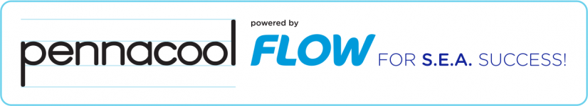pennacool powered by Flow Logo