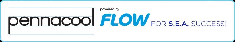 pennacool powered by Flow Logo