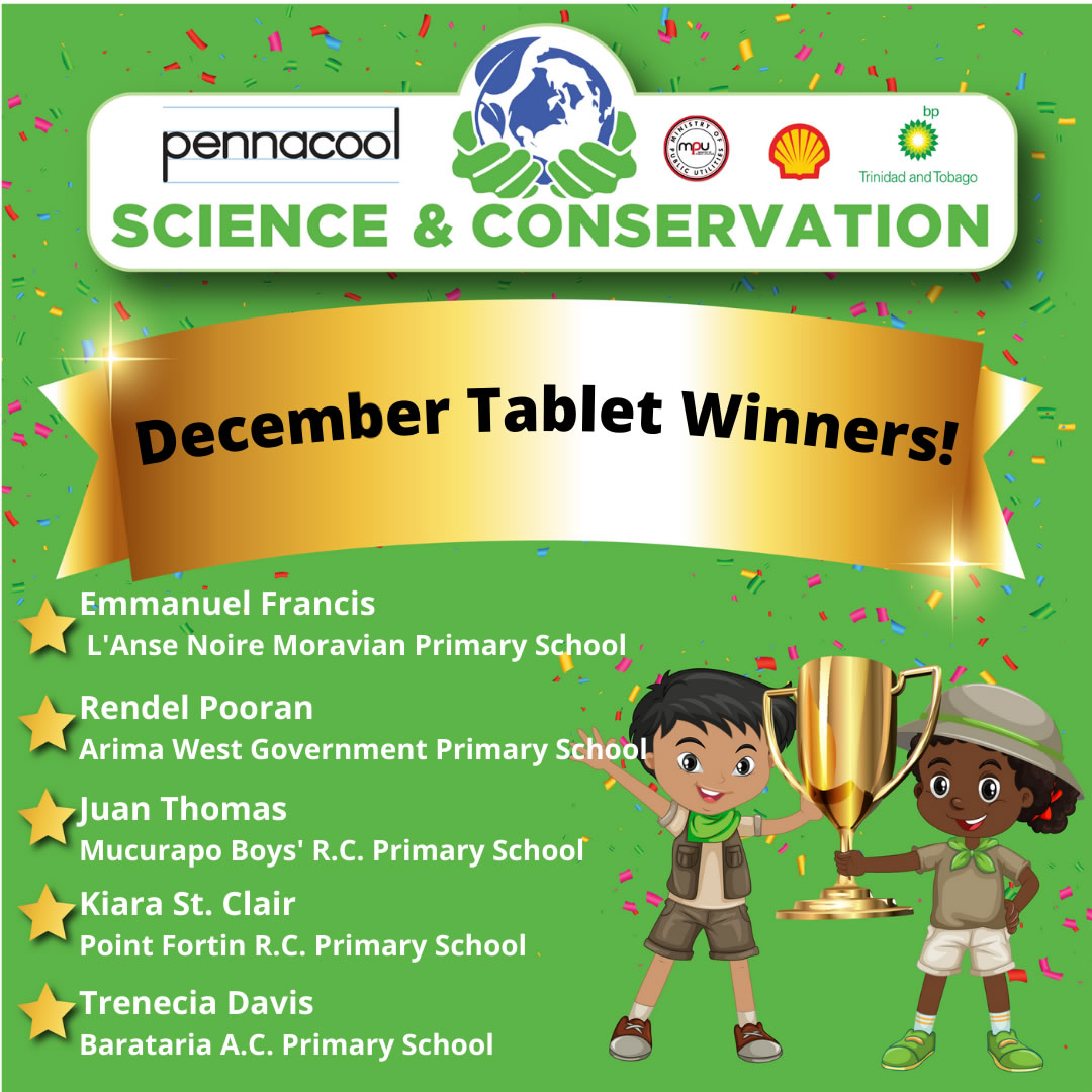 December Tablet Winners